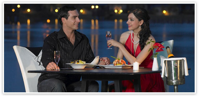 Candle Light Dinner in Himachal Honeymoon Package