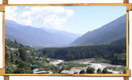 Manali Valley view